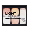 Light In A Box Highlighter Palette Produktbild productfrontviewclosed S