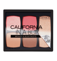 California In A Box Bronzer & Blush Palette Produktbild productfrontviewclosed S