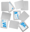 Square Metal Stickers Produktbild productfrontviewfullopen S