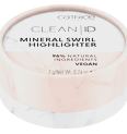 Clean ID Mineral Swirl Highlighter Produktbild productfrontviewclosed S