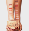 Royal Party INT My little coral eyeshadow palette Produktbild swatchtogether S