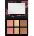 Aloha Sunsets Everyday Face And Cheek Palette Produktbild productfrontviewfullopen S