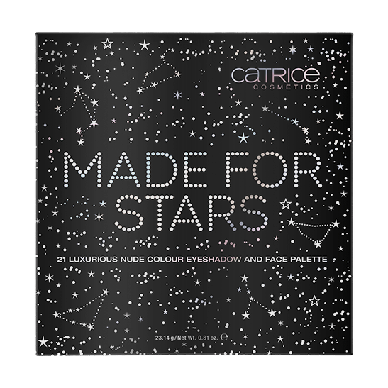 MADE FOR STARS 21 colour eyeshadow and face palette Produktbild productfrontviewclosed L