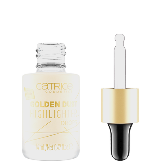 Golden Dust Highlighter Drops Produktbild productfrontviewfullopen L