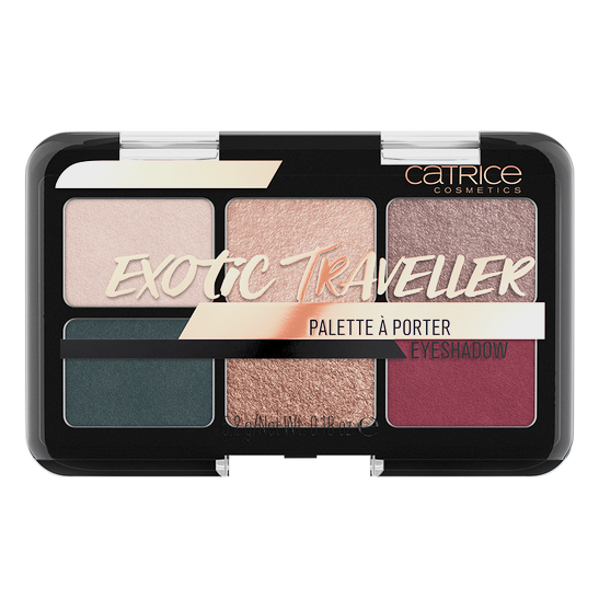 Exotic Traveller Palette À Porter Eyeshadow Produktbild productfrontviewclosed L