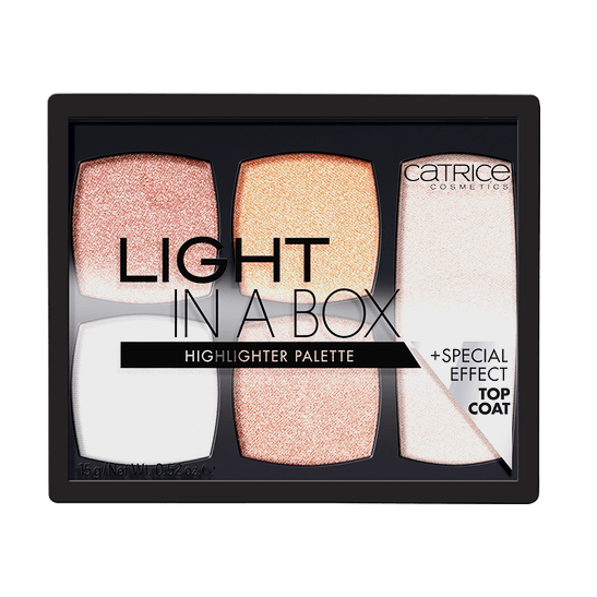 Light In A Box Highlighter Palette Produktbild productfrontviewclosed L