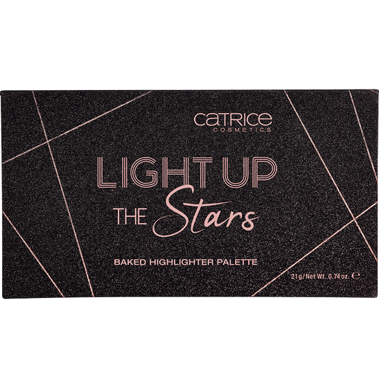 LIGHT UP THE STARS baked highlighter palette Produktbild productfrontviewclosed L