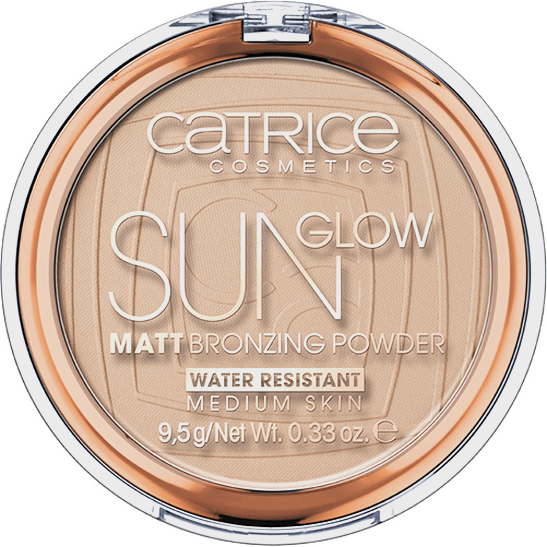 Sun Glow Matt Bronzing Powder Produktbild productfrontviewclosed L