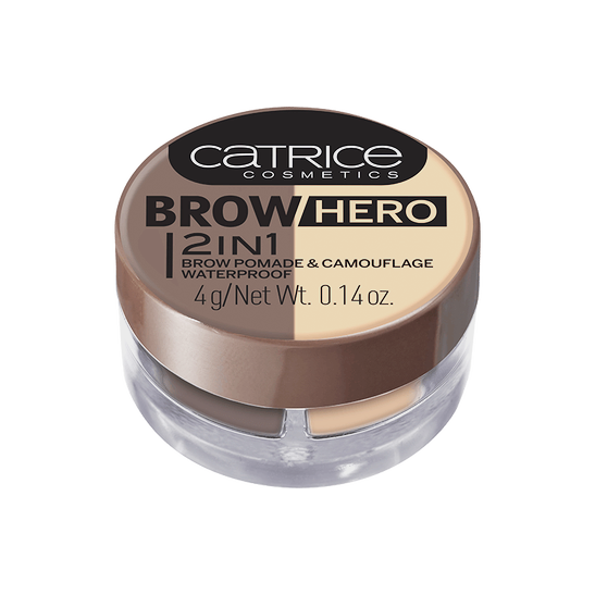 Brow Hero 2in1 Brow Pomade & Camouflage Waterproof Produktbild productfrontviewclosed L