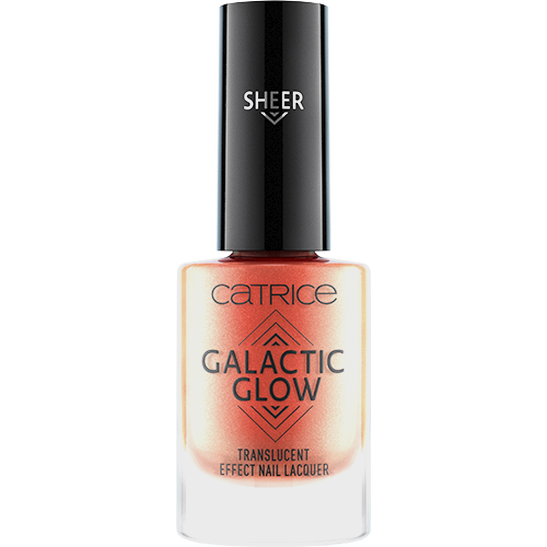Galactic Glow Translucent Effect Nail Lacquer Produktbild productfrontviewclosed L