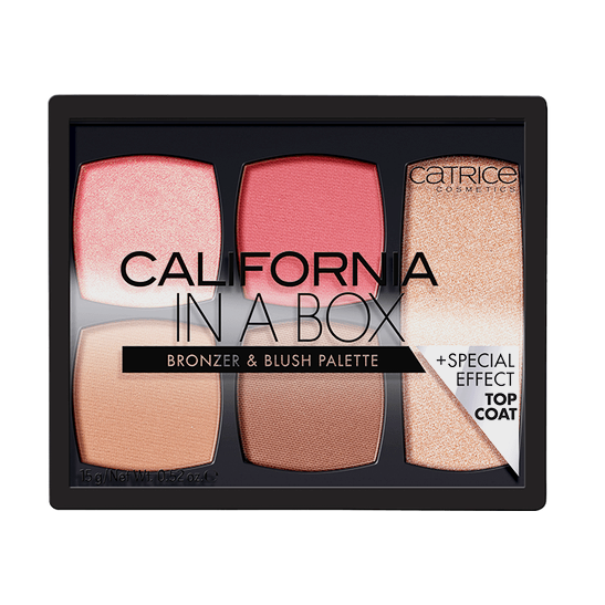 California In A Box Bronzer & Blush Palette Produktbild productfrontviewclosed L
