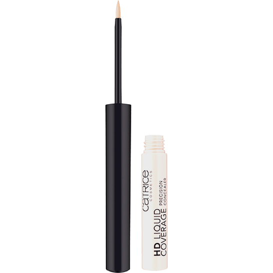 HD Liquid Coverage Precision Concealer Produktbild productfrontviewfullopen L
