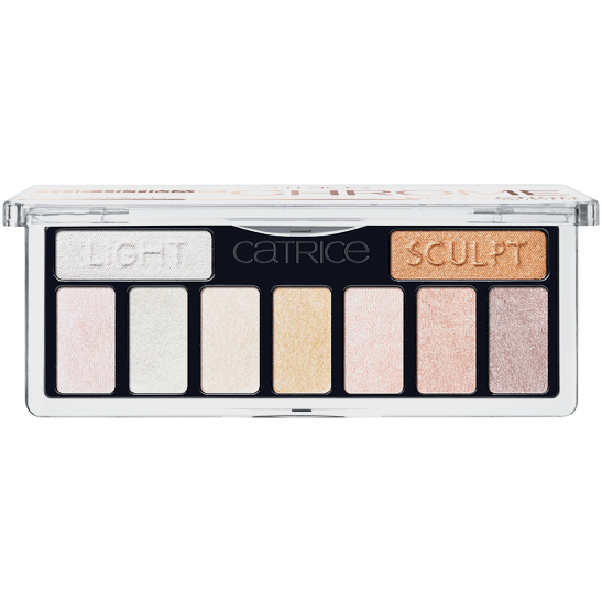 The Ultimate Chrome  Collection Eyeshadow Palette Produktbild productfrontviewfullopen L