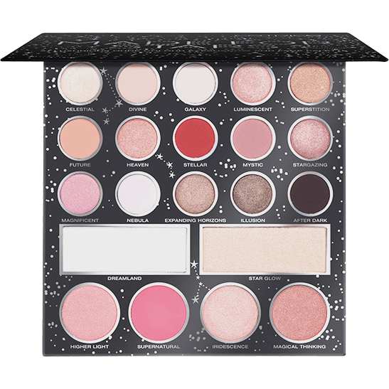 MADE FOR STARS 21 colour eyeshadow and face palette Produktbild productfrontviewfullopen L
