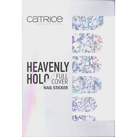 Heavenly Holo Full Cover Nail Sticker Produktbild productfrontviewclosed L