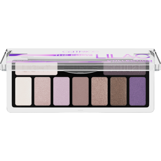 The Edgy Lilac Collection Eyeshadow Palette Produktbild productfrontviewfullopen L