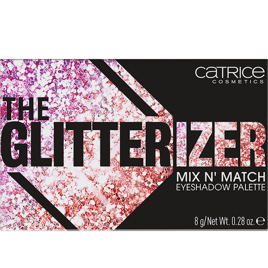 The Glitterizer Mix N Match Eyeshadow Palette Produktbild productfrontviewclosed L