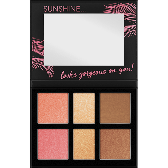 Aloha Sunsets Everyday Face And Cheek Palette Produktbild productfrontviewfullopen L