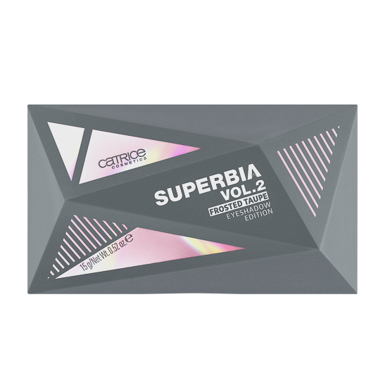 Superbia Vol. II Frosted Taupe Eyeshadow Edition Produktbild productfrontviewclosed L