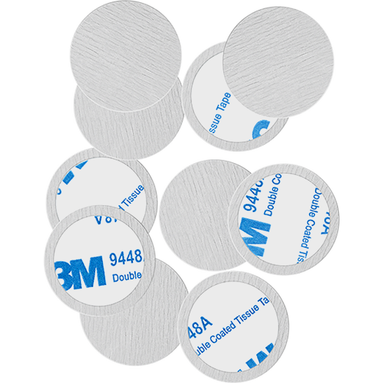 Round Metal Stickers Produktbild productfrontviewfullopen L