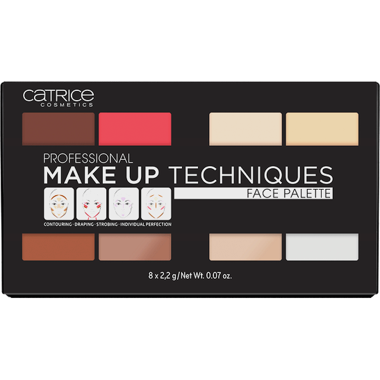 Professional Make Up Techniques Face Palette Produktbild productouterpackagingclosed L