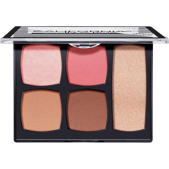 California In A Box Bronzer & Blush Palette Produktbild productfrontviewfullopen L