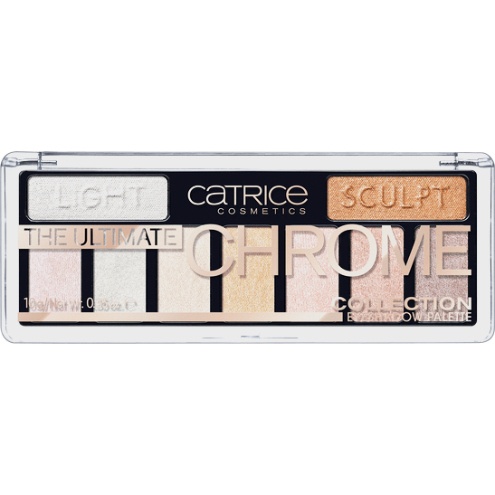 The Ultimate Chrome  Collection Eyeshadow Palette Produktbild productfrontviewclosed L