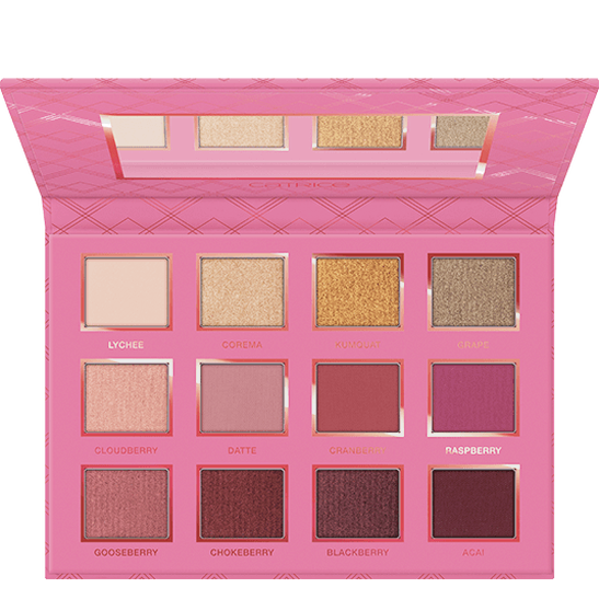 Addicted To Berries Eyeshadow Palette Produktbild productfrontviewfullopen L