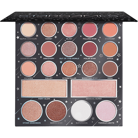 STARGAMES 21 colour eyeshadow and face palette Produktbild productfrontviewfullopen L