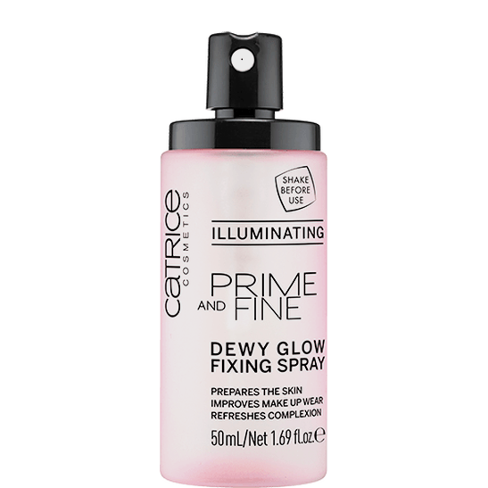 Prime And Fine Dewy Glow Fixing Spray Produktbild productfrontviewfullopen L