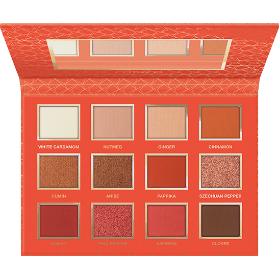 Addicted To Spices Eyeshadow Palette Produktbild productfrontviewfullopen L