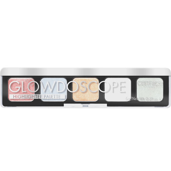 Glowdoscope Highlighter Palette Produktbild productfrontviewclosed L