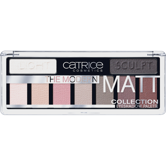 The Modern Matt Collection Eyeshadow Palette Produktbild productfrontviewclosed L