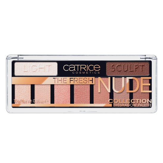 The Fresh Nude Collection Eyeshadow Palette Produktbild productfrontviewclosed L