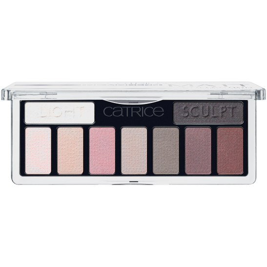 The Modern Matt Collection Eyeshadow Palette Produktbild productfrontviewfullopen L