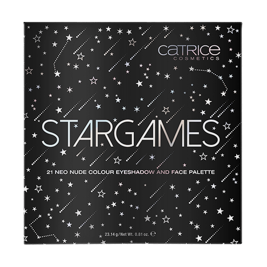 STARGAMES 21 colour eyeshadow and face palette Produktbild productfrontviewclosed L
