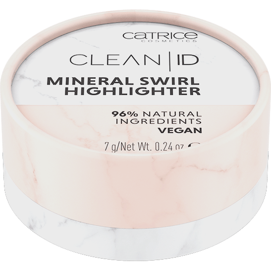 Clean ID Mineral Swirl Highlighter Produktbild productfrontviewclosed L