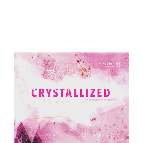 Crystallized Rose Quartz Eyeshadow Palette Produktbild productfrontviewclosed L