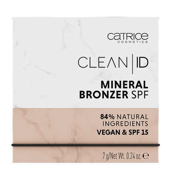 Clean ID Mineral Bronzer SPF Produktbild productfrontviewclosed L