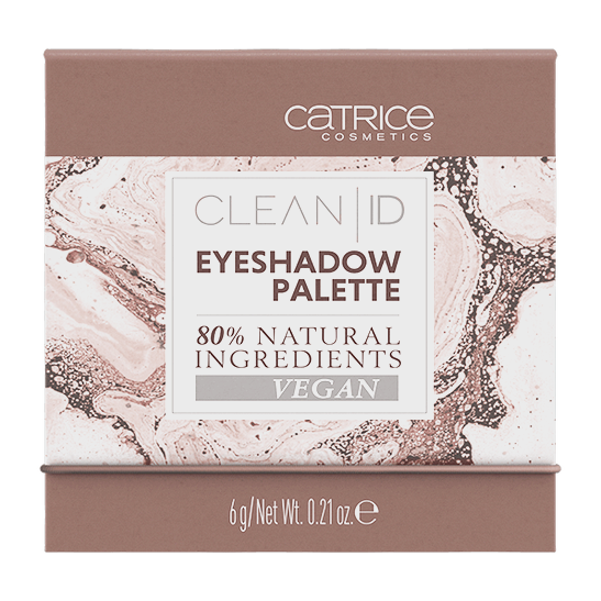 Clean ID Eyeshadow Palette Produktbild productfrontviewclosed L