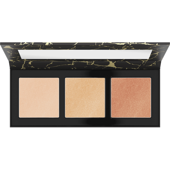 Luminice Highlight & Bronze Glow Palette Produktbild productfrontviewfullopen L