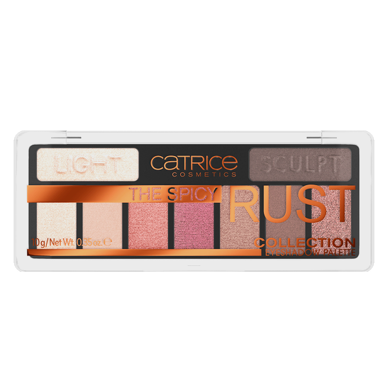 The Spicy Rust  Collection Eyeshadow Palette Produktbild productfrontviewclosed L