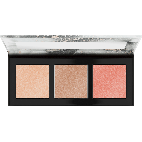 Luminice Highlight & Blush Glow Palette