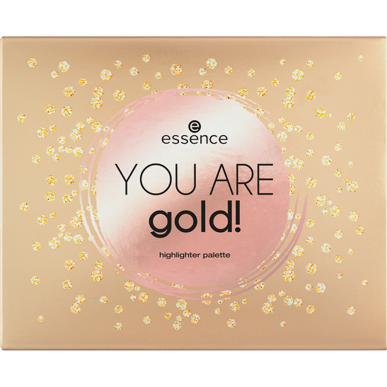 Royal Party You are gold! highlighter palette  Produktbild productfrontviewclosed L