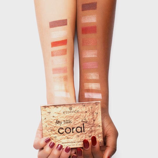 Royal Party INT My little coral eyeshadow palette Produktbild swatchtogether L