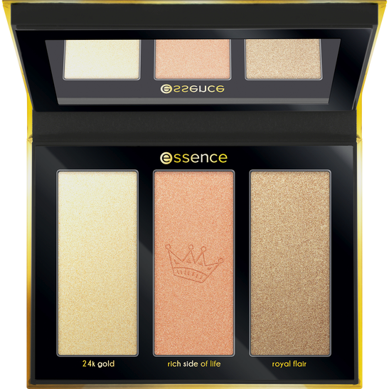 Royal Party INT My little gold highlighter palette Produktbild productfrontviewfullopen L