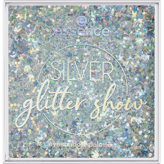 Royal Party Silver glitter show eyeshadow palette  Produktbild productfrontviewclosed L