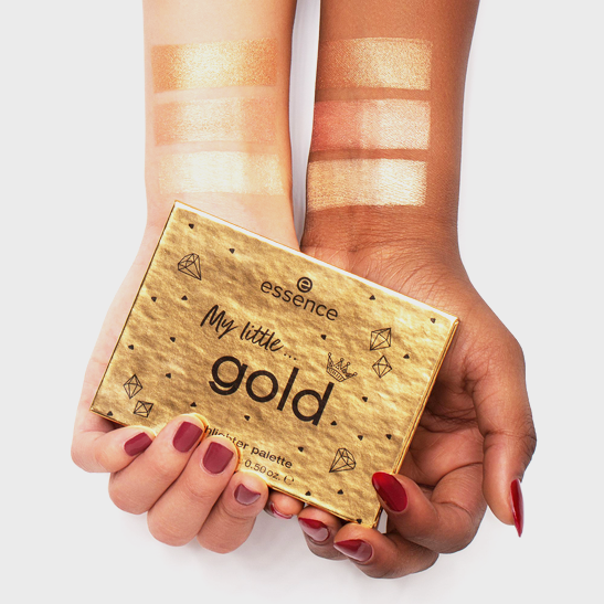 Royal Party INT My little gold highlighter palette Produktbild swatchtogether L