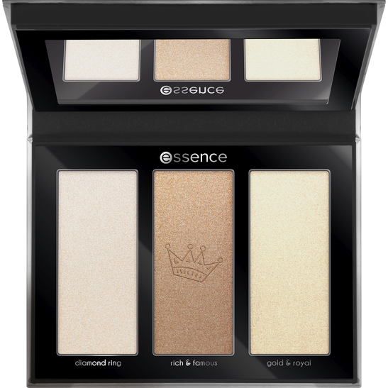 Royal Party INT My little platinum highlighter palette Produktbild productfrontviewfullopen L