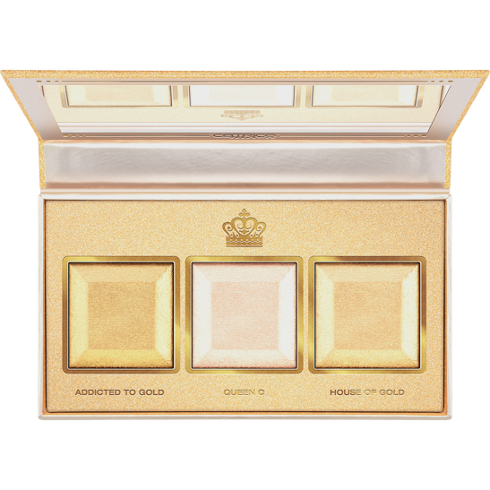 Royal Party Better Than Gold Baked Highlighter Palette Produktbild productfrontviewfullopen L